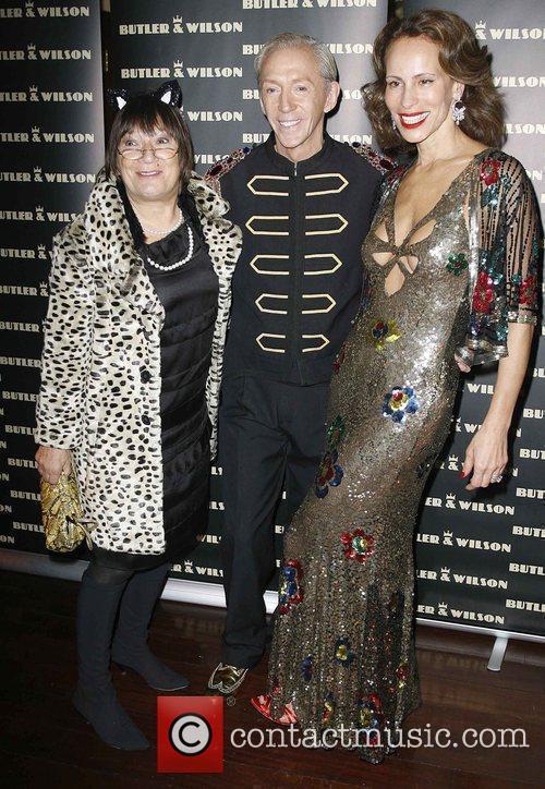 Hilary Alexander, Simon Wilson and Andrea Dellal Butler...