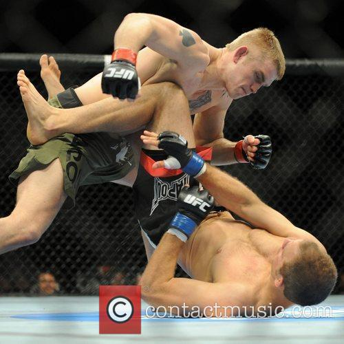 Fight winner Alexander Gustafsson of Sweden against Jared...