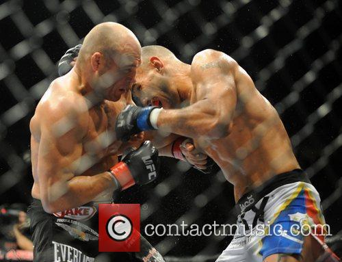 Fight winner UFC legend Randy Couture of USA...