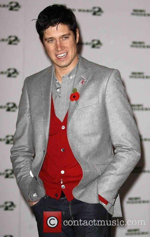 Vernon Kay arriving at the UK launch screening...