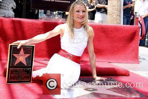 Cameron Diaz, Star On The Hollywood Walk Of Fame and Walk Of Fame 8