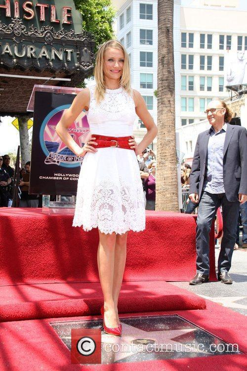 Cameron Diaz, Star On The Hollywood Walk Of Fame and Walk Of Fame 11