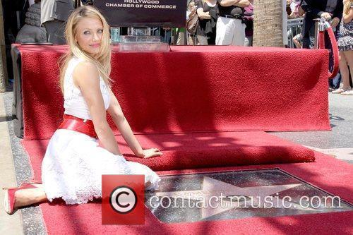 Cameron Diaz, Star On The Hollywood Walk Of Fame and Walk Of Fame 9