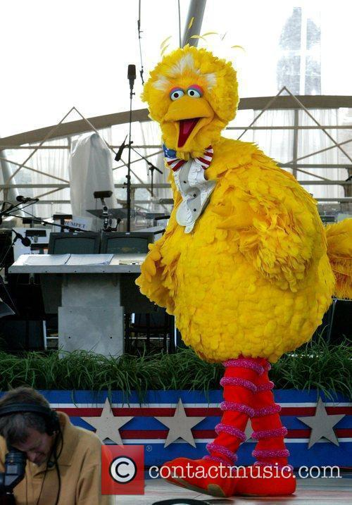Big Bird from Sesame Street PBS and the...