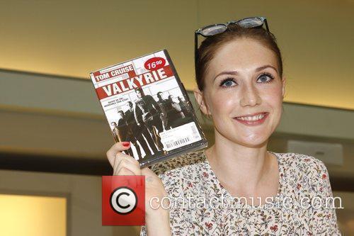 Carice van Houten signs copies of Valkyrie Amsterdam,...