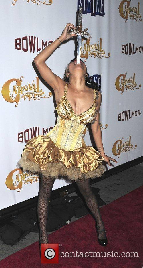 The grand opening of 'Carnival' held at Bowlmor...