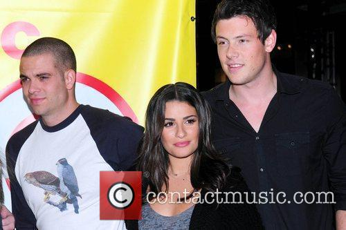 Mark Salling, Lea Michele and Cory Monteith 3