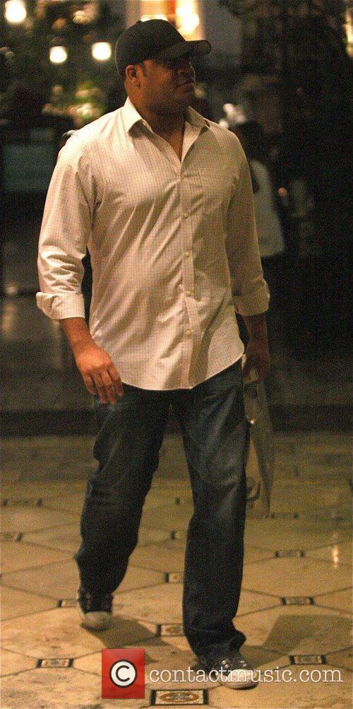 Cedric Yarbrough leaves Nordstorm in Hollywood Los Angeles,...