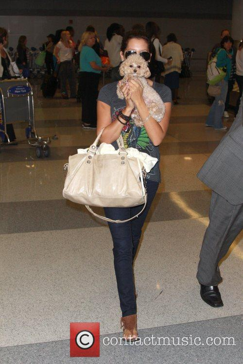 Ashley Tisdale and Her Dog Maui 4