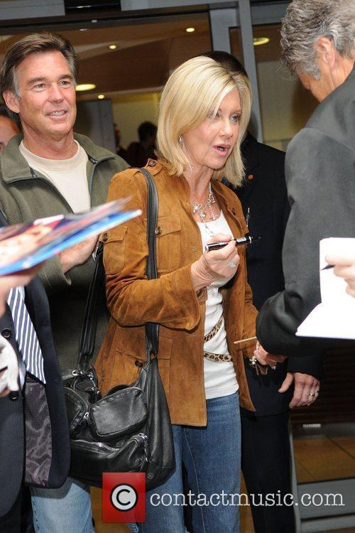 Olivia Newton-john and Her Husband John Easterling 5