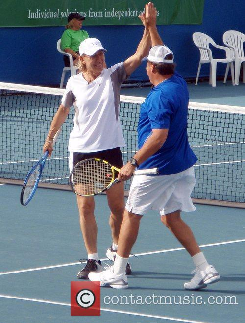 Participate in the Chris Evert/Raymond James Pro-Celebrity Tennis...