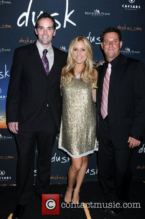 Kevin Friel, Kristin Cavalleri and co owner Eric...