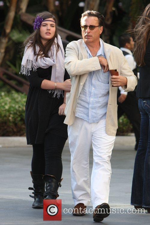 Andy Garcia and His Daughter 5