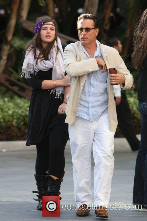 Andy Garcia and His Daughter 1