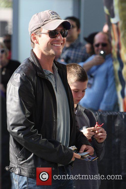 Christian Slater,  arrive for the first game...