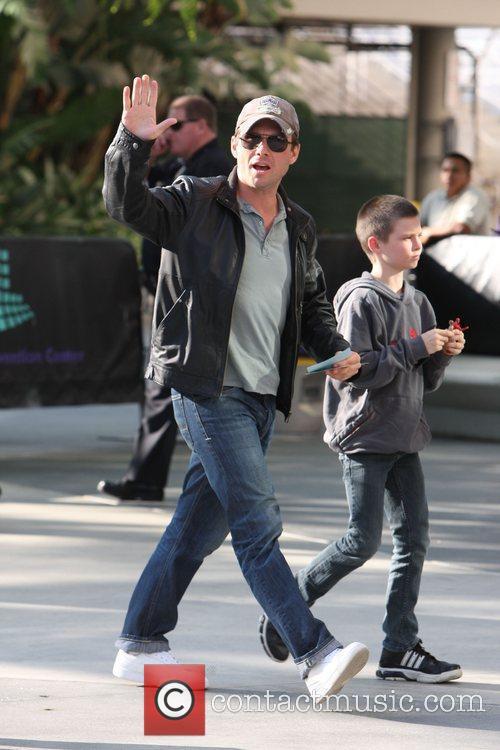 Christian Slater and His Son Jaden 2