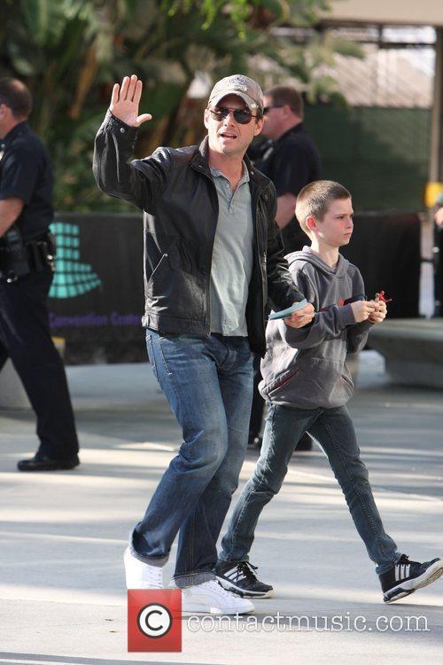 Christian Slater and His Son Jaden 8
