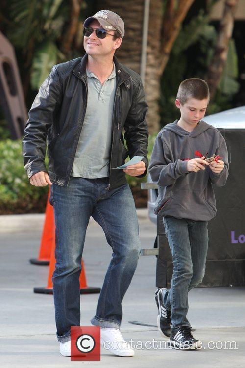 Christian Slater and His Son Jaden 1