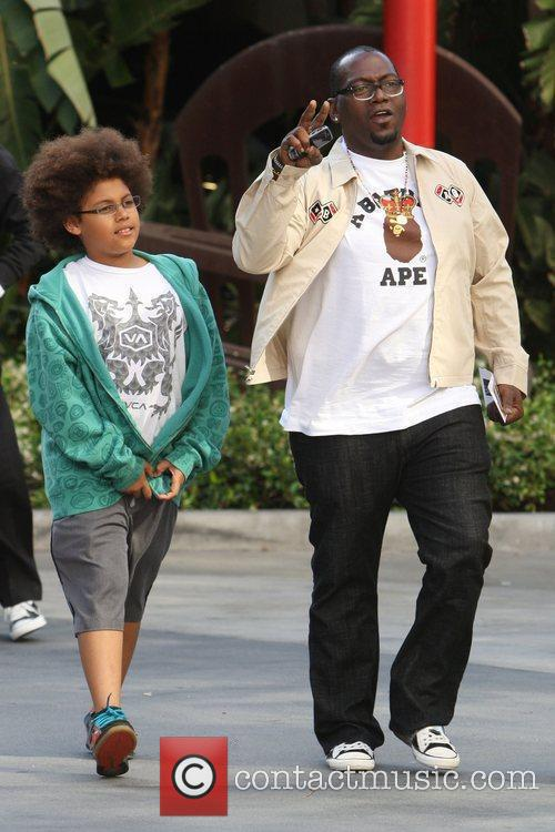 Randy Jackson and His Son Jordan Jackson 4