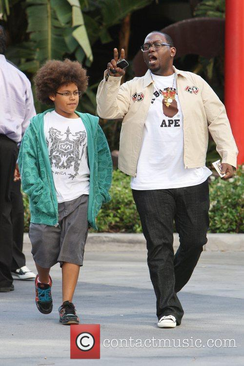Randy Jackson and His Son Jordan Jackson 1
