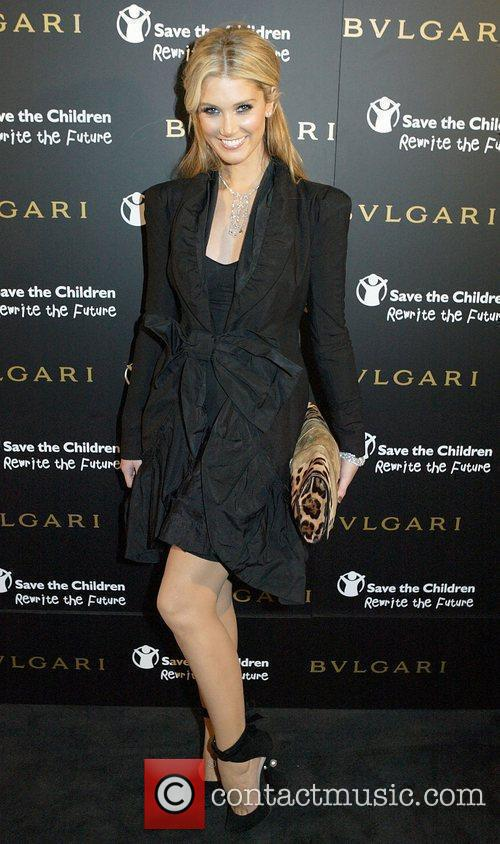 At the Bulgari 125th Anniversary celebration in aid...