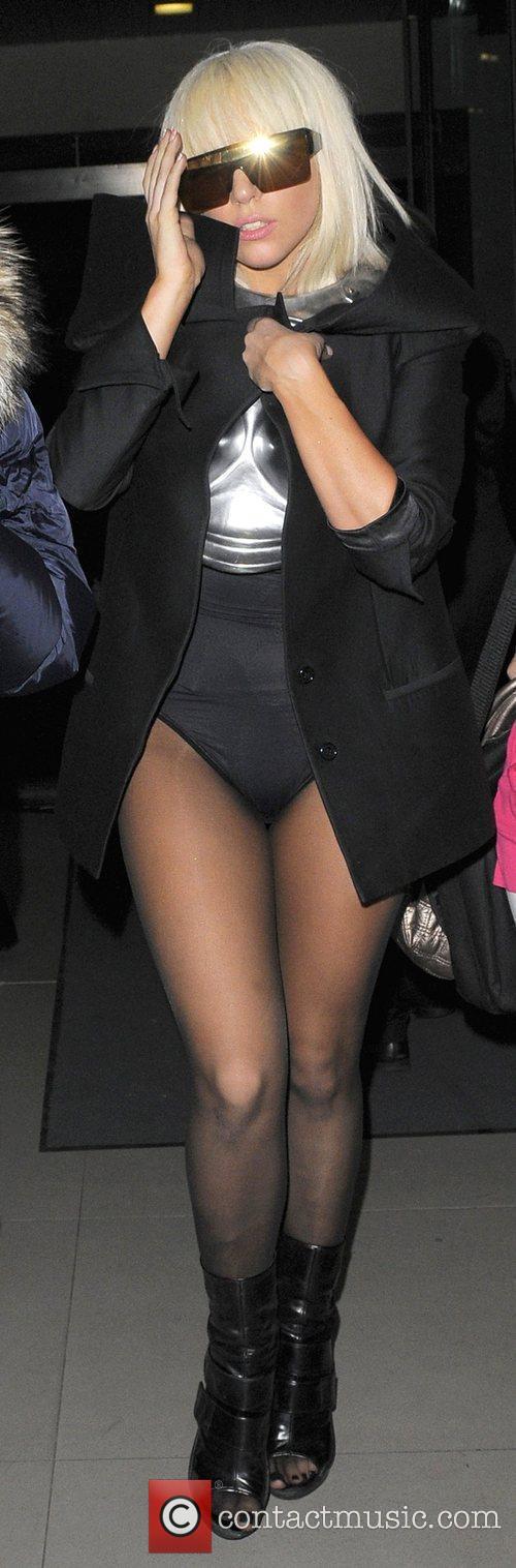 Joanne Stefani Germanotta aka Lady GaGa arrives back...