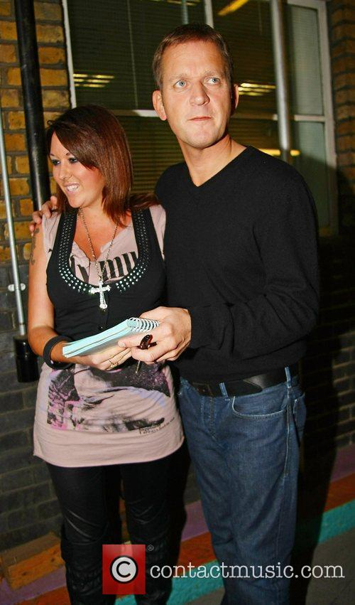 Jeremy Kyle Celebrities outside the ITV television studios...