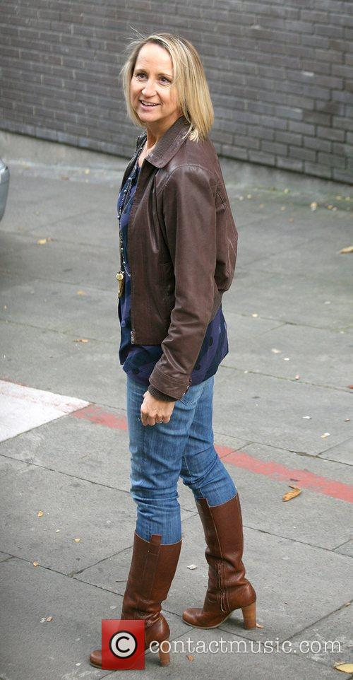 Carol McGiffin outside the ITV studios  London,...