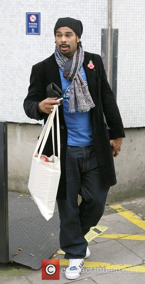 David Hayes outside the ITV studios  London,...