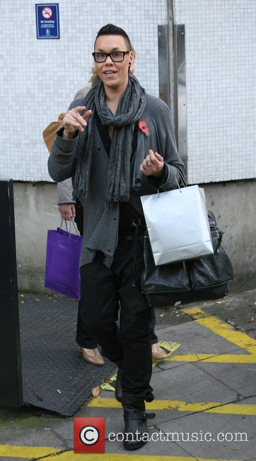Gok Wan outside the ITV studios  London,...