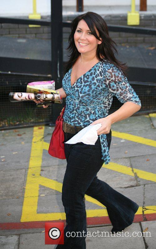 Zoe Tyler outside the ITV studios  London,...