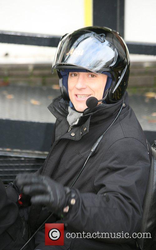 Ben Shephard Celebrities outside the ITV television studios...