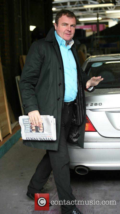 Paul Ross Celebrities outside the ITV television studios...