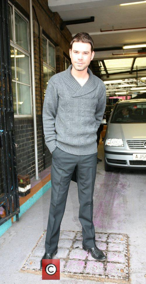 David Berry Celebrities outside the ITV television studios...