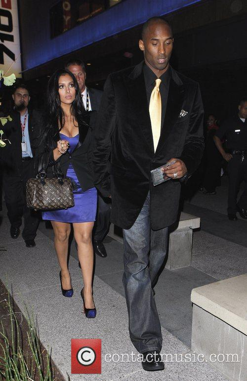 Kobe Bryant and his wife Vanessa Laine 4