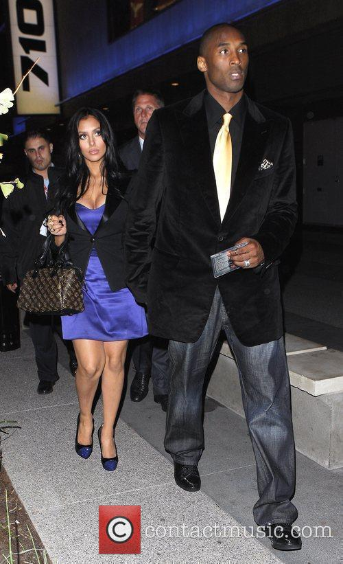 Kobe Bryant and his wife Vanessa Laine 3