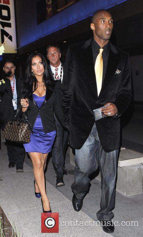 Kobe Bryant and his wife Vanessa Laine 1