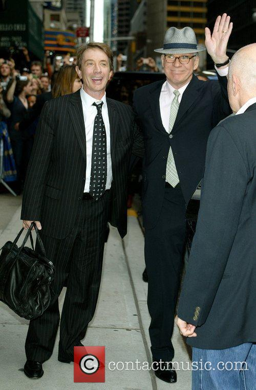 Martin Short and David Letterman 8