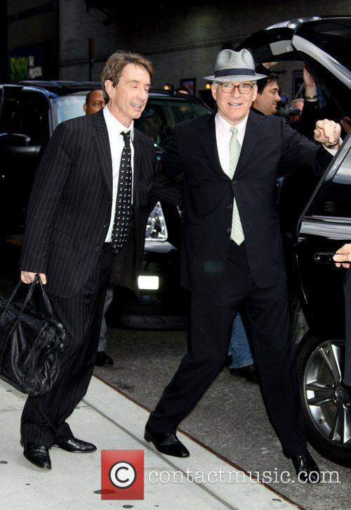 Martin Short and David Letterman 11