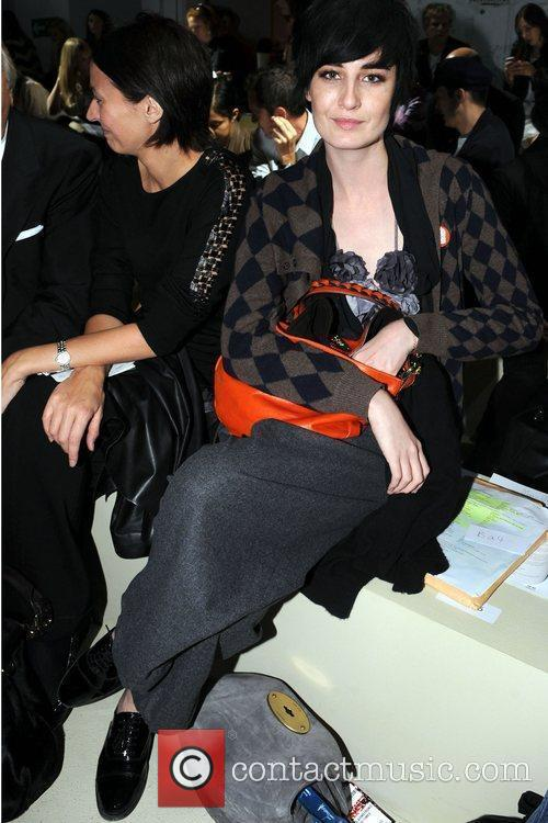 At the 25th Anniversary London Fashion Week Spring/Summer...