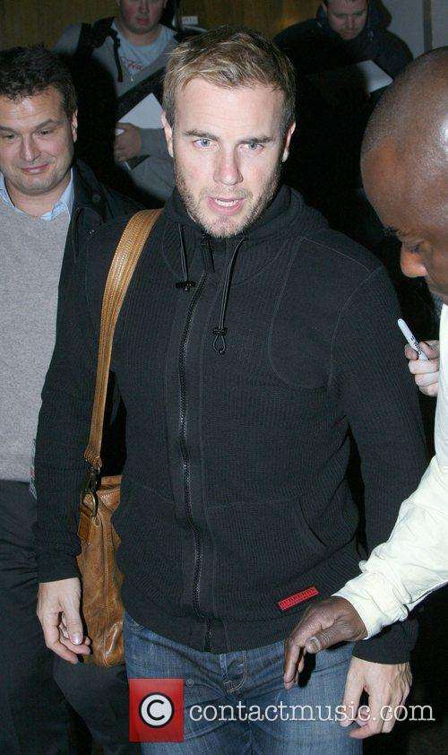 Gary Barlow Celebrities at the Maida Vale studios...