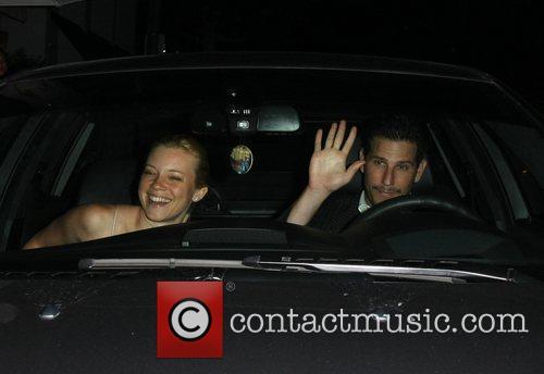 Amy Smart and boyfriend Branden Williams leave Mr...