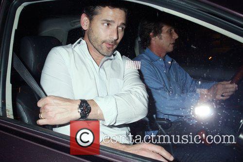 Eric bana seen leaving the Madeo nightclub Los...