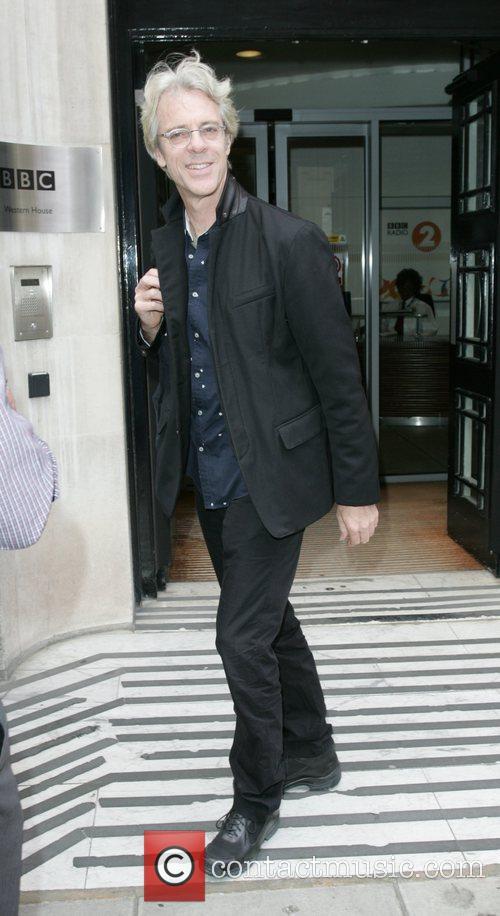 Stewart Copeland Outside Bbc Radio 2 Studios 4