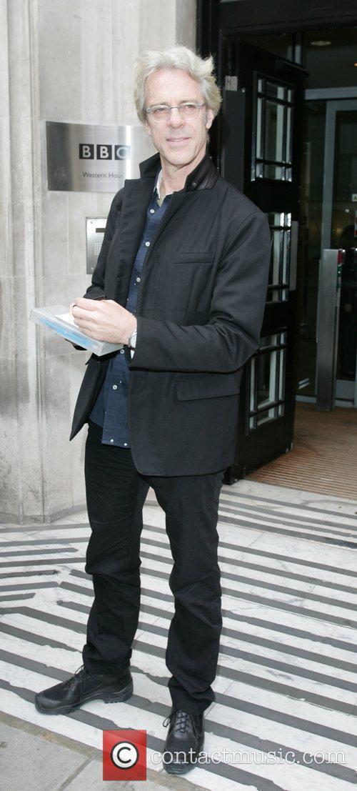 Stewart Copeland Outside Bbc Radio 2 Studios 2