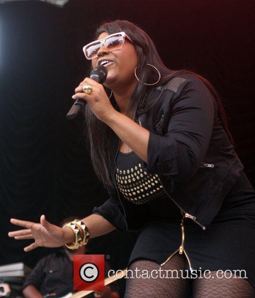 Jazmine Sullivan Performing At Central Park Summerstage 3