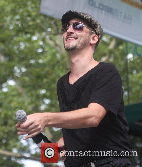 Jon B Performing At Central Park Summerstage 3