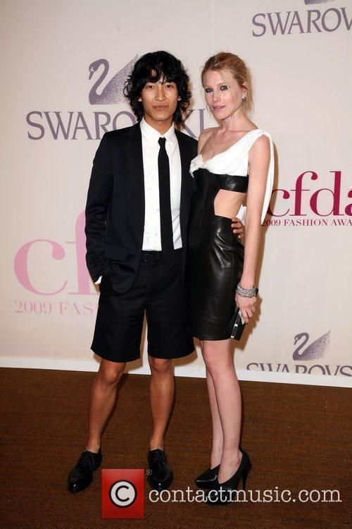 Designer Alexander Wang (l) and Cfda Fashion Awards 10