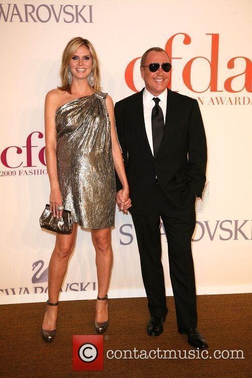 Heidi Klum, Michael Kors and Cfda Fashion Awards 8