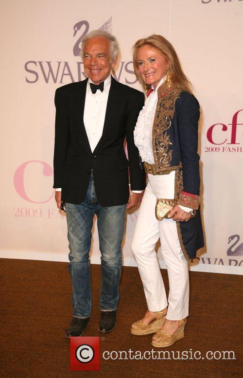 Ralph Lauren, Ricky Lauren and Cfda Fashion Awards 2